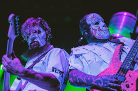 SLIPKNOT Unveil <b>New</b> White Masks and <b>Jumpsuits</b> To Combat The ...