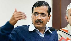 Disruption: Chief Minister Arvind Kejriwal's press conference disrupted by Congress legislator Asif Mohammad Khan who demanded an SIT inquiry into the Batla ... - article-2548946-1B16BF3F00000578-854_634x369
