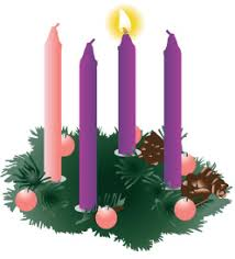 Image result for first week of advent clip art