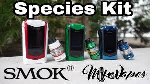 <b>Smok Species 230w</b> Touch Screen <b>Kit</b> & TFV8 Big Baby v2 - Mike ...