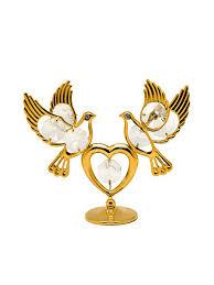 <b>Фигурка</b> сердце с <b>голубями</b> CRYSTOCRAFT 4164700 в интернет ...