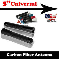 "5"" Black Universal <b>JDM Style</b> Carbon Fiber Screw Auto Car Vehicle ..."