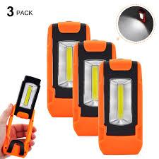 Battery Operated Foldable 3W <b>COB LED</b> Torch <b>Portable Handheld</b> ...
