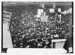when socialism was popular in the united states viewpoint magazine socialists in union square n y c 1