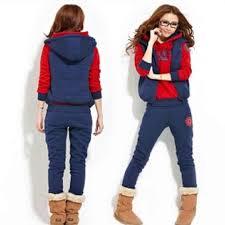 2019 female ladies Women's sweatshirt vest pants <b>3 pieces Set</b> plus ...