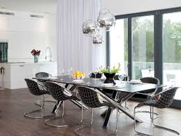 Rectangular Dining Room Lighting Light Fixtures Gorgeous Dining Room Idea Presented With Stacked
