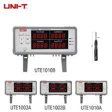 <b>UNI T</b> UTE1010B UTE1010A UTE1003A UTE1003B Bench True ...