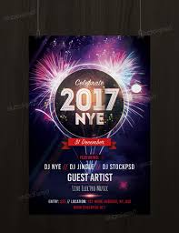 new years eve party psd flyer net