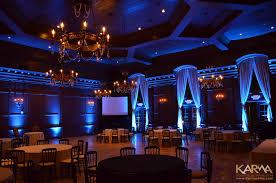 villa siena gilbert blue uplighting karma4me com 4 blue wedding uplighting