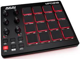 <b>Akai</b> MPD218 – портативный <b>MIDI</b>-<b>контроллер</b> для Mac, PC и iOS ...