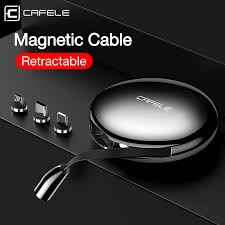Cafele <b>3</b> in <b>1 Retractable</b> Micro <b>USB</b> Type C <b>Cable</b> for iPhone X XS ...