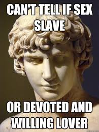 Agony Antinous memes | quickmeme via Relatably.com