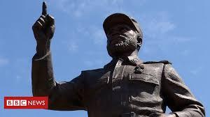 North <b>Korea's</b> 'biggest' export - giant statues - BBC News