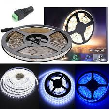 Flexible <b>1/2/3</b>/<b>5M LED</b> Ribbon Strip Tape Lights Corner Counter ...