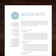 Resume, Cv template and Resume design on Pinterest Resume / CV Template | The Alicia Resume Design in Blue | Instant Download | Word