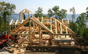 Timber Frame Home Designs and Floor Plans Examples   Great    Lake Superior Lighthouse