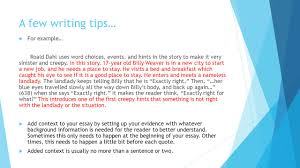 a few writing tips iuml micro don t start sentences question words 5 a