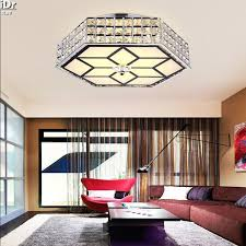 contemporary cube led crystal lamp living room bedroom lamp iron shaped hall ceiling lights 3 contemporary cheap modern pendant lighting