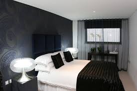best design blue and black black blue bedroom
