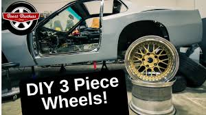Widebody 944 Project: How To Build <b>3 Piece</b> Wheels (<b>DIY</b>) - YouTube