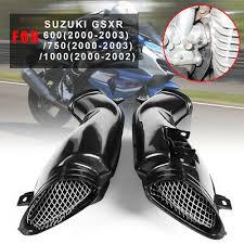 <b>1 Pair</b> Air Intake Tube Duct Cover <b>Fairing</b> Fit For SUZUKI GSXR 600 ...