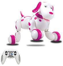 <b>Радиоуправляемая робот</b>-<b>собака HappyCow</b> Smart Dog Pink ...