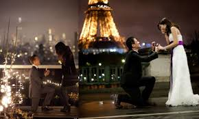Resultado de imagen de pedida de matrimonio romantica