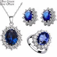 Wholesale <b>Royal Blue</b> Rhinestone Necklace for Resale - Group Buy ...