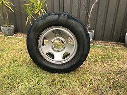 Holden Rodeo Rim and Tyre 225/70R715C | eBay