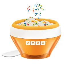 <b>Мороженица Zoku Ice</b> Cream Maker ZK120-OR купить в Москве ...