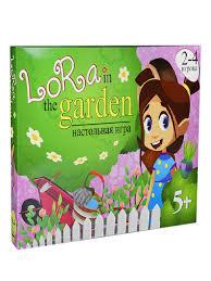 "<b>Настольная игра</b> развивающая для детей ""<b>Lora</b> in the garden ..."