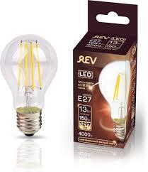 <b>Лампочка REV Deco Premium</b> Filament A60, Холодный свет 13 Вт ...
