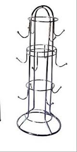 Somkala Steel Coffee <b>Cup Holder</b> / <b>Tea Cup Stand</b> / <b>Mug Holder</b> ...