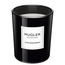 Парфюмированная <b>свеча Les</b> Exceptions Cuir Impertinent - <b>Mugler</b>