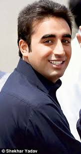 Political dynasties: Bilawal Zardari (left) and Rahul Gandhi had much to learn from - article-2127002-1284BFC6000005DC-407_224x423
