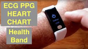 ECG PPG IP68 Waterproof <b>Fitness</b> Tracker <b>Smart Bracelet</b> with ...