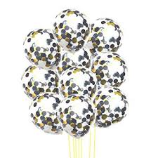 "Rzctukltd <b>10pcs</b> 12"" Foil Latex Confetti Balloon <b>Set</b> Wedding ..."