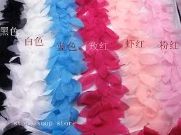<b>1yard 3D</b> Cluster Chiffon Flowers Leaves Lace Clothing Flip flops ...