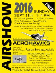 airshow days to the aerohawks airshow