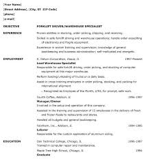 warehouse worker resume sample   job resume    objective warehouse worker resume sample