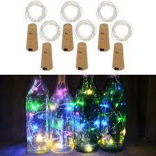 <b>1M 10LED Wine</b> Bottle Cork Lights String Wedding Festival Party ...