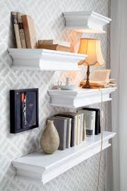 Living Room With Bookcase Living Room Storage Solutions Media Units Wall Mounted Shelves