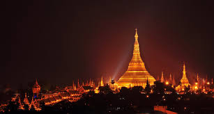 Image result for shwedagon pagoda sunset