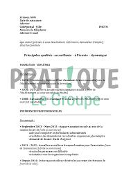 Exemple de CV assistant de service social CV pour stage assistant de service social Dissertation Clemence