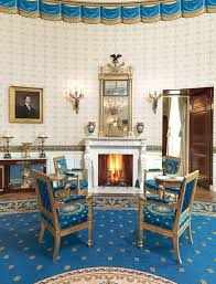 monroes portrait in the blue room white house historical association blue room white