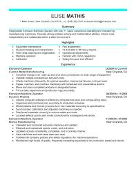 best extrusion operator resume example livecareer create my resume