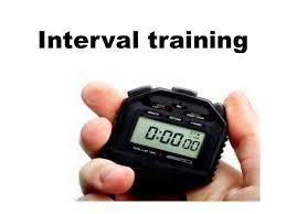 Resultado de imagen de interval training