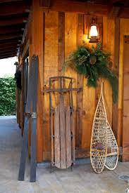 cabin decor lodge sled: woodland cottage img  woodland cottage