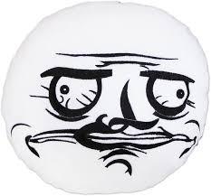 moodrush - Me Gusta Shop Rage Faces Cushion Meme Throw Pillow via Relatably.com