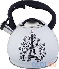 <b>Чайник Bekker Premium</b> BK-S602 белый 3 л нержавеющая сталь ...